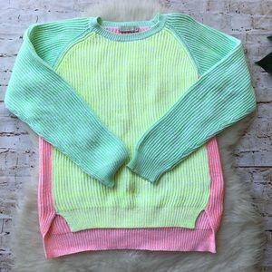 Stella McCartney Kids Color-block Pullover Sweater